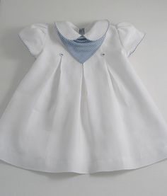 White Linen Yacht Dress - Patricia Smith Designs