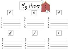 Help the birds find their home! Reading Groups, Reading Activities, Literacy Activities, Literacy Centers, Phonics Blends, Blends And Digraphs, Early Reading, First Grade Reading, Kindergarten Reading