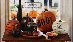 No Carve Pumpkin Ideas! Let your imagination run free.