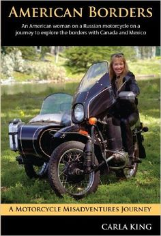 Books About Motorcycling: American Borders by Carla King