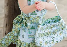 Free Purse and Dress Pattern from Create Kids Couture!