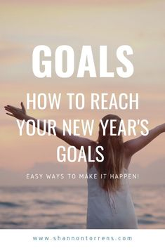 How to Reach Your New Year's Goals