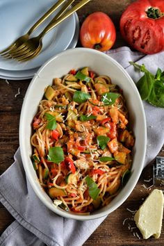 Vegetarian Recipes, Cooking Recipes, Dinner Recipes, Spaghetti, Meals, Ethnic Recipes, Recipe Ideas, Diet, Meal