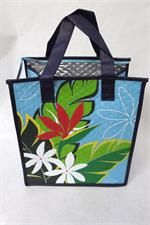 Tropical Paper Garden Hot & Cold Reusable Bag Mala Pua Aqua