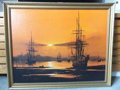 Evening anchorage