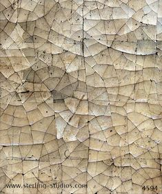 Sterling Studios: crackled gesso with cracks in  all directions sample no 4594