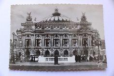 French antique postcard photograph Theatre de l'Opera