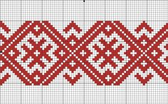 "Another good pattern. Ostensibly an ""amulet"" pattern to bless the wearer. Russian Embroidery, Beaded Embroidery, Cross Stitch Embroidery, Embroidery Patterns, Hand Embroidery, Inkle Weaving, Inkle Loom, Bead Loom Patterns, Mosaic Patterns"