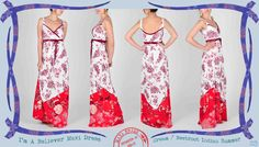 023 I'm-a-Believer maxi dress in cream Indian Summer I'm A Believer, Indian Summer, Fabric Design, Maya, Brides, Fabrics, African, Cream, Tips