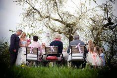 Trouwen in de boomgaard onder de bloesem, het kan bij Trouwen in de Betuwe!