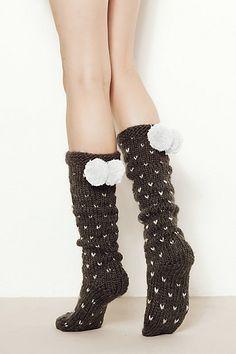 Pom-Pom Socks #ANTHROFAVE