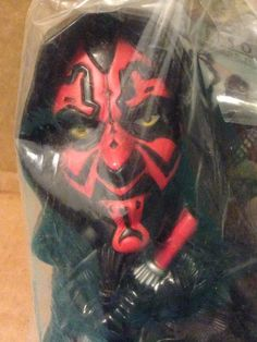 2005 Burger King Kids Star Wars Episode III Revenge Of The Sith Darth Maul Toy