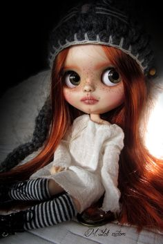 Custom blythe doll by M.Loli