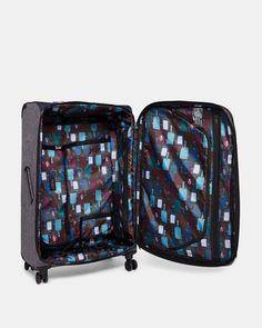 Large 4-wheel case - Grey | Bags | Ted Baker UK
