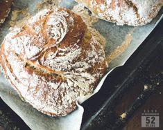 Siken sämpylät - luksusta aamuun ilman vaivaa - 52 Weeks of Deliciousness 52 Weeks, Bread Baking, Vegan Vegetarian, Bread Recipes, Rolls, Food And Drink, Cooking, Kitchen, Baking
