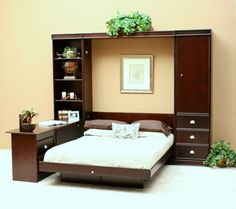 furniture inspiring light oak wood unique murphy bed with wheel black computer also computer desk for cool bedroom design and decoration unique mu2026 - Murphy Bed Desk