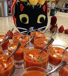 Roasted Red Pepper Soup! Crisp Fall Foods. http://www.tasteandsavor.com/blog.html