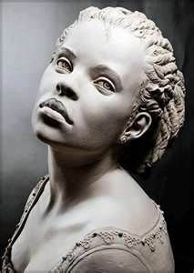There aren't enough black people depicted in neo-classical art so when I saw this I was like Stone Sculptures, Full Figure Portrait Sculpting by Philippe Faraut Portrait Sculpture, Sculpture Art, Stone Sculptures, Modern Sculpture, Abstract Sculpture, Bronze Sculpture, African American Art, African Art, Statues