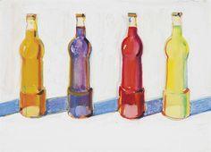 Wayne Thiebaud, 4 Sodas