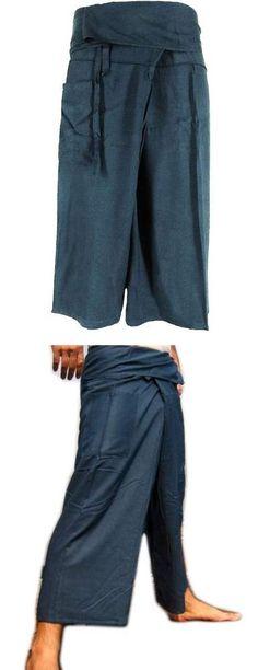 HitHot Toray Cotton Fisherman Pants Trousers Yoga Pants