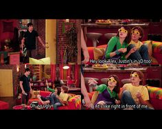Wizards of Waverly Place  I remember laughing when I saw that.