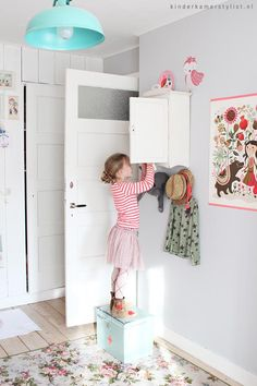 Landelijke-meisjeskamer | Kinderkamerstylist.nl