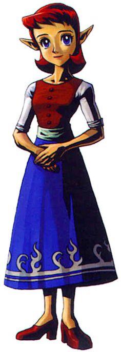 Anju from Zelda mm