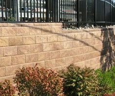E1 Block Wall, Dividers, Fences, Sidewalk, Walls, Picket Fences, Iron Fences, Side Walkway, Walkway