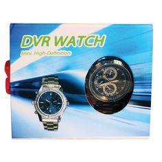 Watch Hidden Camera with DVR