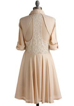 Foam Design Dress | Mod Retro Vintage Printed Dresses | ModCloth.com - StyleSays
