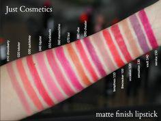 Just matte finish lipstick