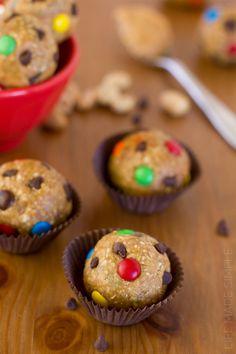 Monster Cookie Dough Energy Bites 1