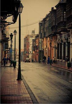 Downtown area of Lima, Peru. https://ExploreTraveler.com