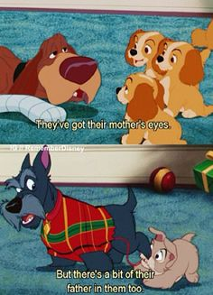 Find images and videos about disney, puppy and lady and the tramp on We Heart It - the app to get lost in what you love. Walt Disney, Disney Pixar, Disney Dogs, Disney Memes, Disney Quotes, Disney Animation, Disney And Dreamworks, Disney Cartoons, Disney Art