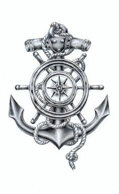 coolTop Tattoo Trends - Tattoodo tattoo artist RadeCupo: I'm a painter and i. - New Tattoo Trend Anchor Tattoo Design, Compass Tattoo Design, Sketch Tattoo Design, Tattoo Sketches, Tattoo Drawings, Body Art Tattoos, Sleeve Tattoos, Tattoo Designs, Anchor Compass Tattoo