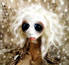 Loopy Gothic Art Doll Ooak Doll Claudette by loopyboopy on Etsy, $275.00