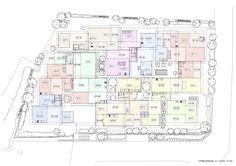 01  a f a s i a: Kazuyo Sejima & Associates The Nishinoyama House is a ten-unit housing complex