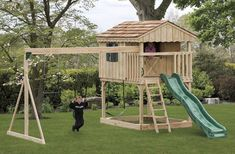 Backyard Playset Plans | playsets plans for free | Backyard Playstation ... | For Emma (and ot ...