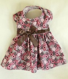 Fall Flowers Dress for Dogs, have this one as well but once again it is to big for her.