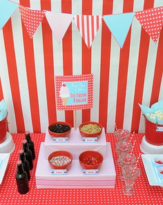 Ice Cream Parlor Birthday Party