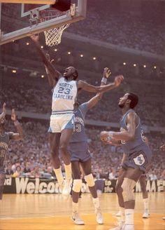 For the chip Michael Jordan Unc, Michael Jordan North Carolina, Michael Jordan Pictures, Jeffrey Jordan, Jordan 23, I Love Basketball, Basketball History, Basketball Legends, College Basketball