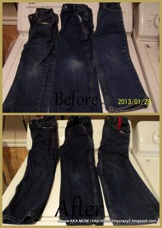 Running away? I'll help you pack.: Refresh those old jeans
