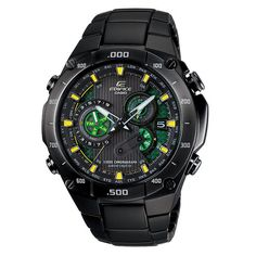 Casio EQWM1100DC-1A2 Edifice Black Label Atomic Watch,