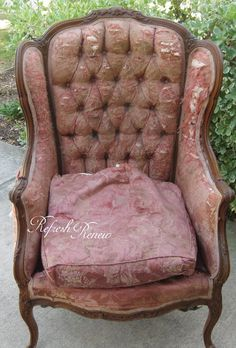 Wingback Upholstered Chair-rescue