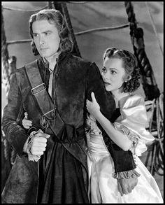 Errol Flynn, 1935, Captain Blood