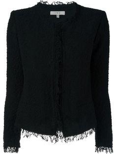 IRO fringed bouclé jacket. #iro #cloth #jacket