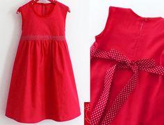 """Kleid """"Mariechen"""" - Festtagskleid von  katharina-meintke-kids - Lieblingssachen für Kinder auf DaWanda.com"""