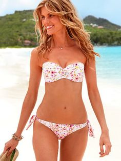 BEST bandeau bikini top for.....ummm.....larger busts I have EVER tried on.  I am going to get this one!