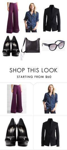 """""""Fall"""" by allpeoplewilltravel on Polyvore featuring Gap, Yves Saint Laurent, J.Crew and Prada"""