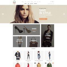 Magento Theme for Apparel Website